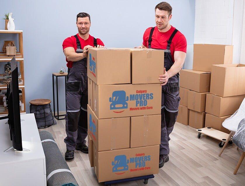 Moving companies in Calgary